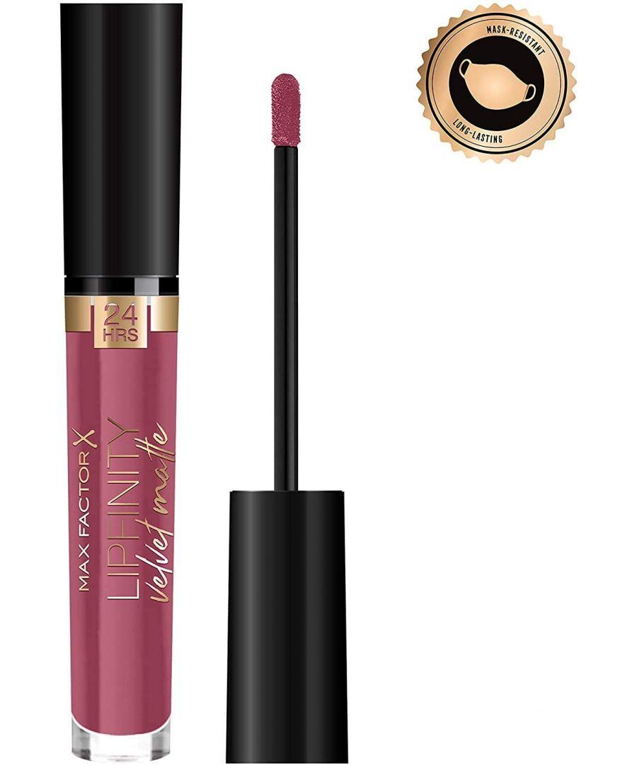 Image for Max Factor Lipfinity Velvet Matte 24Hr Lipstick - 005 Matte Merlot