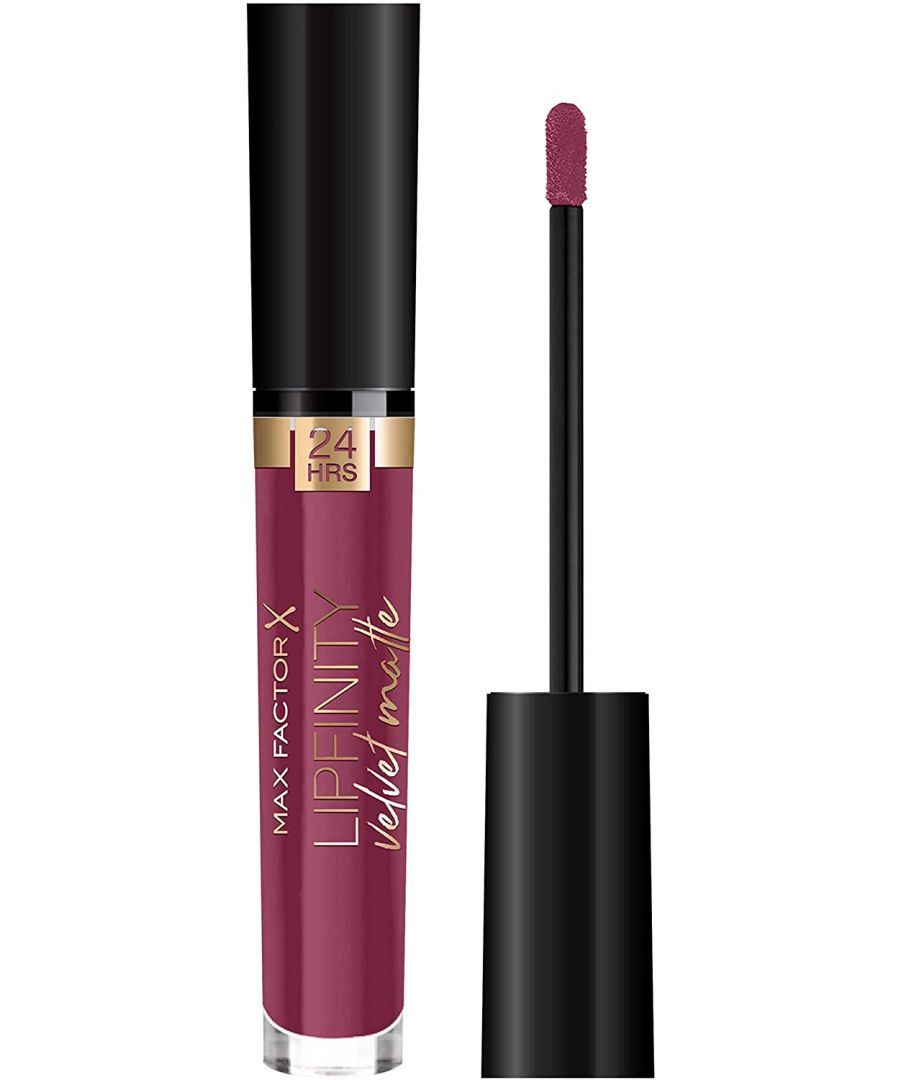 Image for Max Factor Lipfinity Velvet Matte 24Hr Lipstick - 050 Satin Berry