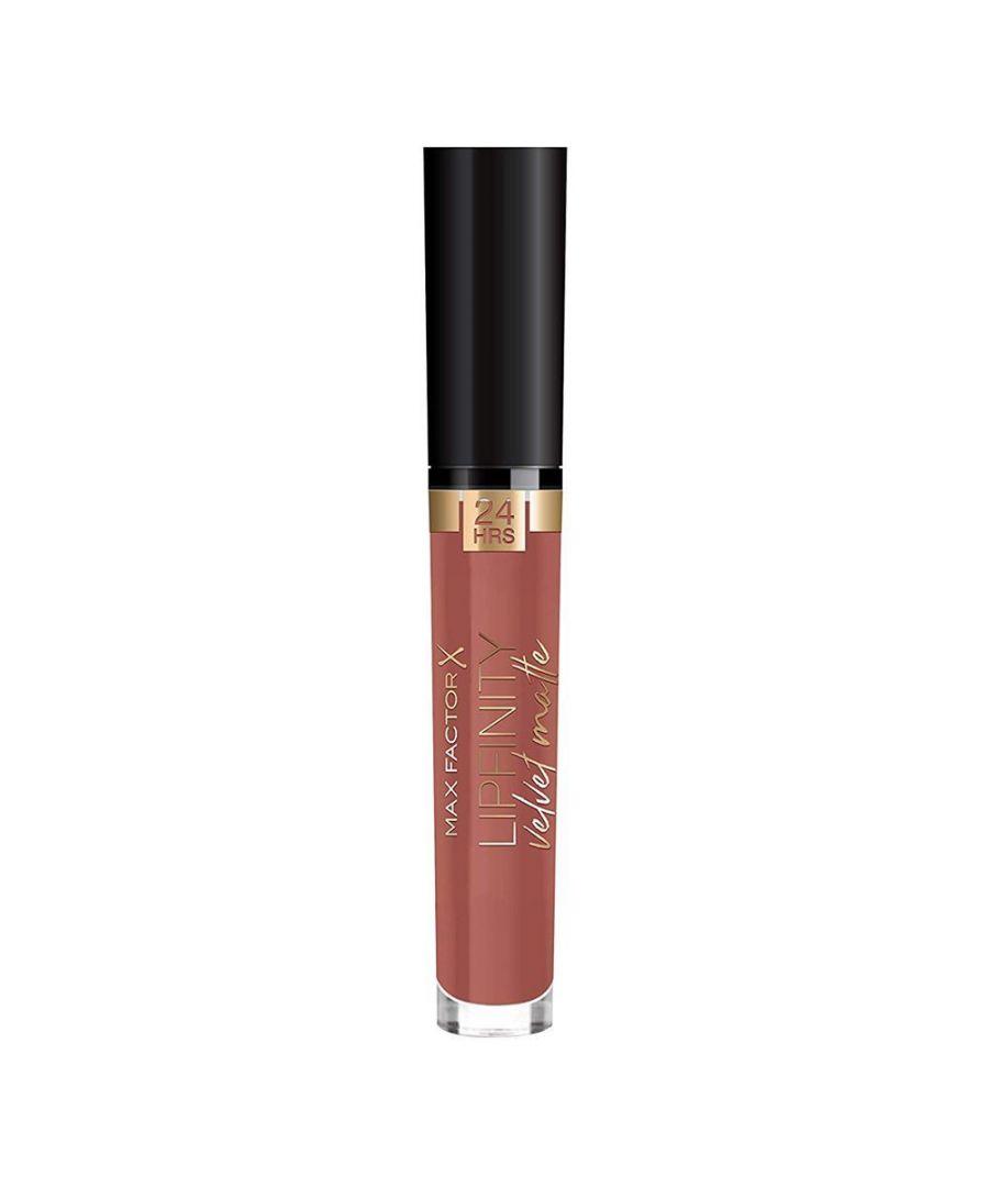 Image for Max Factor Lipfinity Velvet Matte 24Hr Lipstick - 070 Vintage Caramel