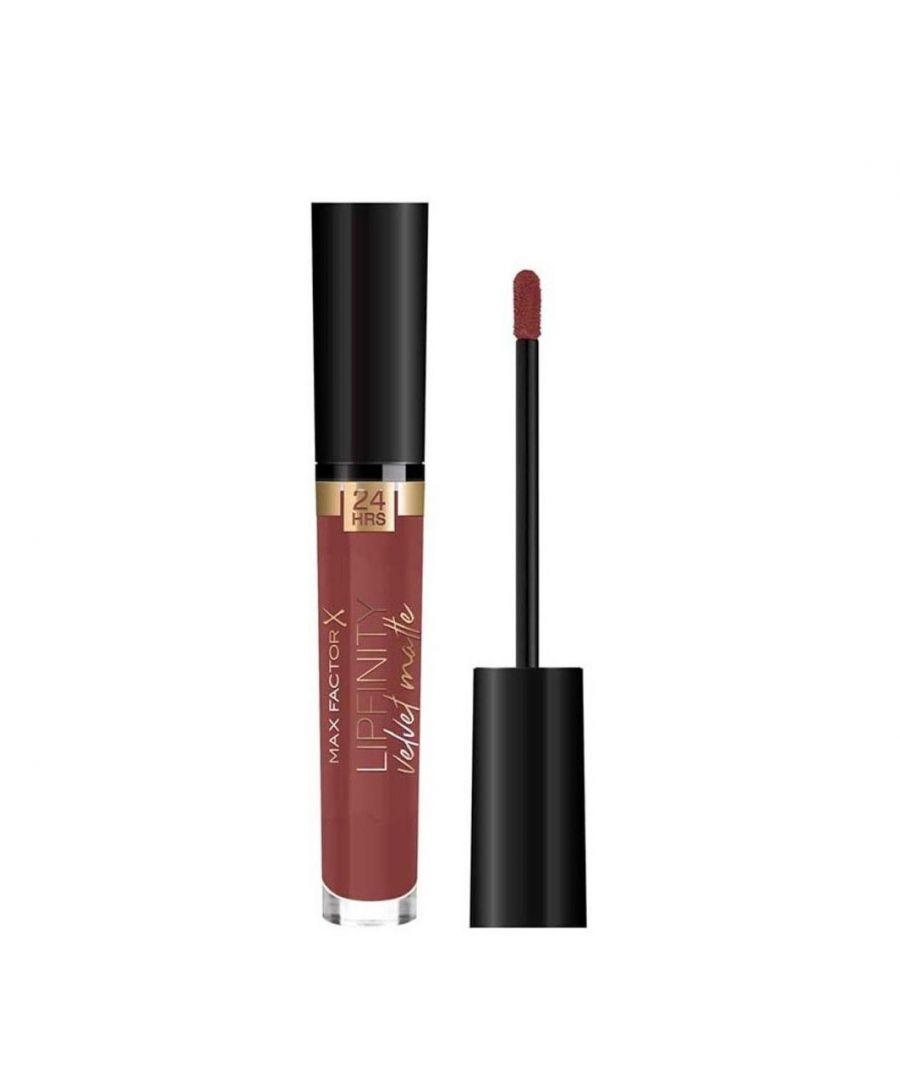 Image for Max Factor Lipfinity Velvet Matte 24Hr Lipstick - 075 Modest Mauve