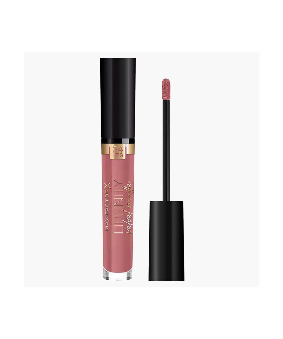 Image for Max Factor Lipfinity Velvet Matte 24Hr Lipstick - 080 Rose Couture