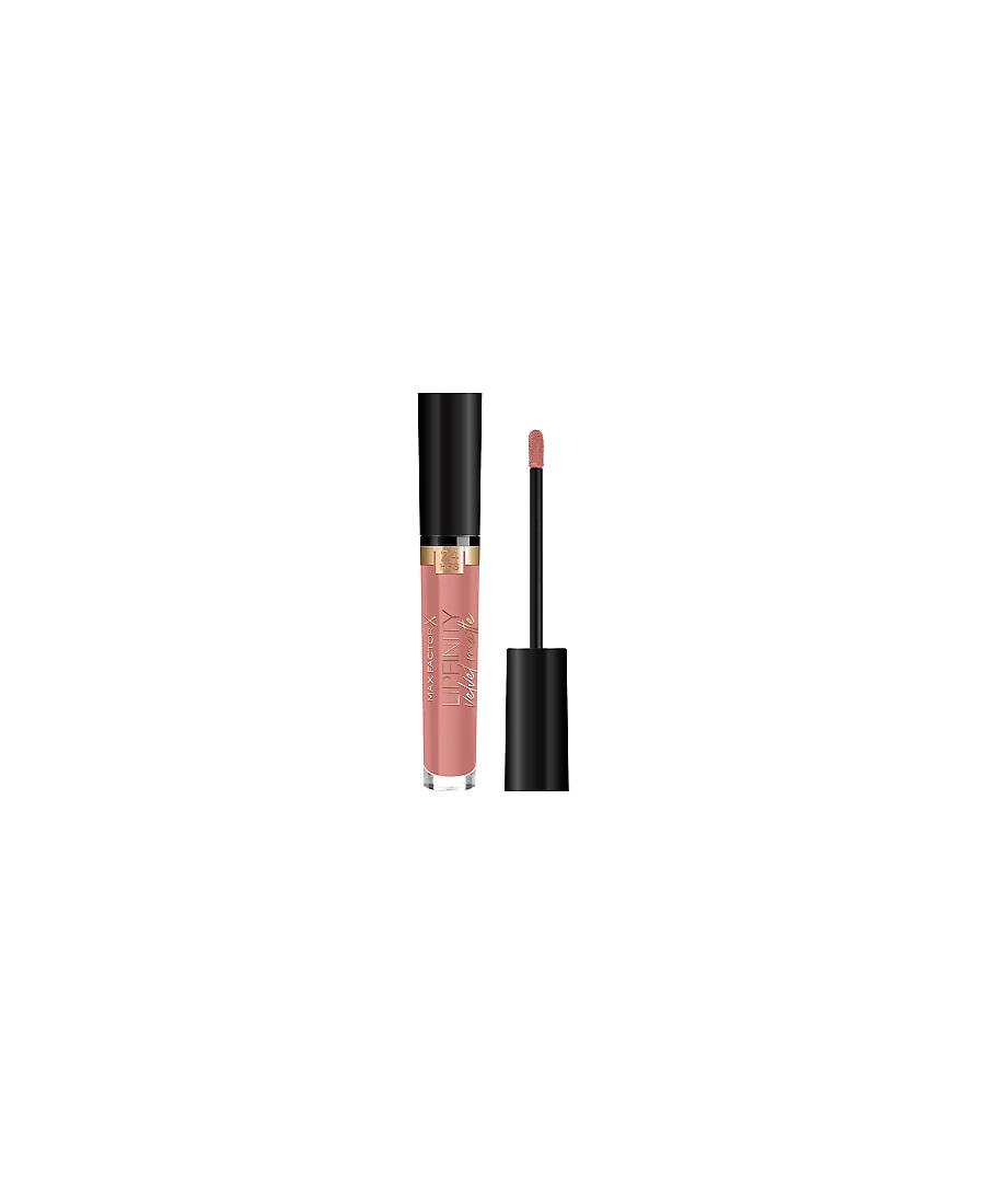 Image for Max Factor Lipfinity Velvet Matte 24Hr Lipstick - 085 Cashmere Nude