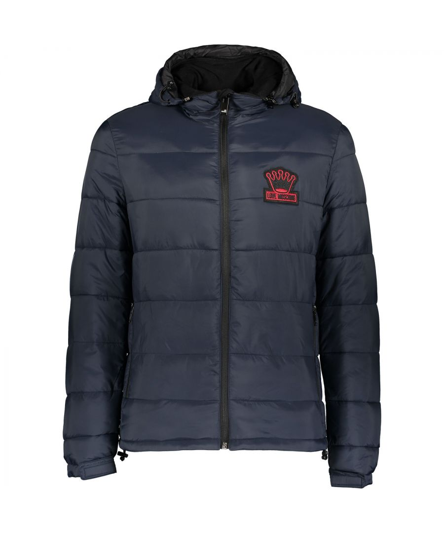 Image for Love Moschino M H 610 00 T 7578 Navy Y69 Jacket