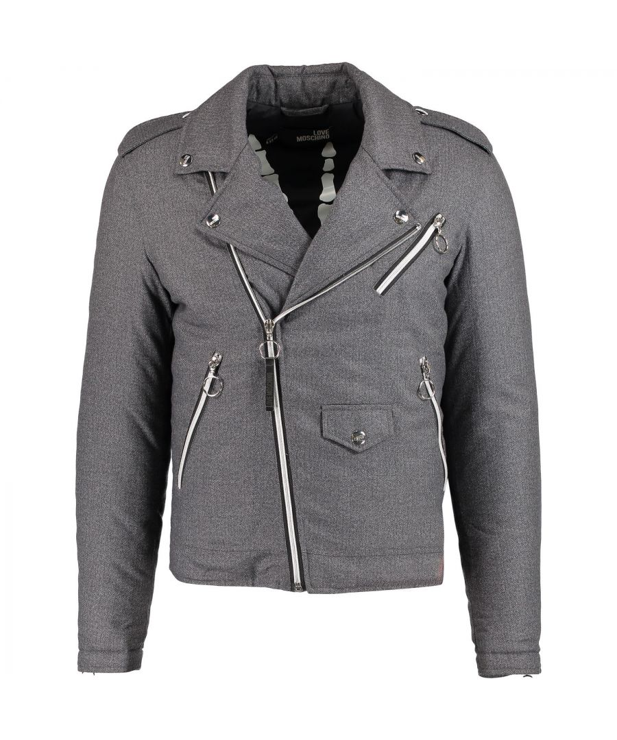 Image for Love Moschino M H 621 01 T 7828 Grey 6016 Jacket