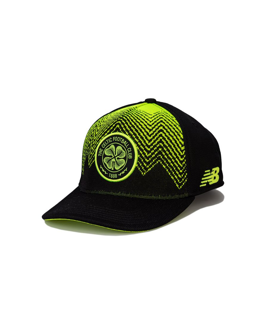 Image for Accessories New Balance Celtic FC Peak Cap in black green