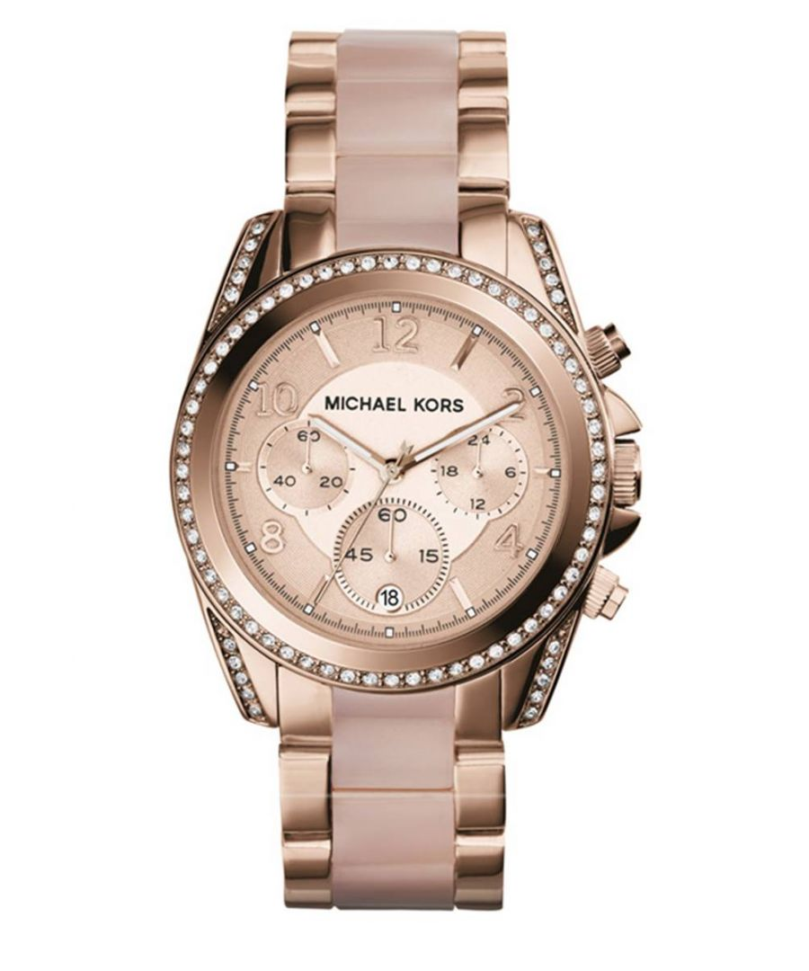 Image for Michael Kors Ladies' Blair Chronograph Watch MK5943