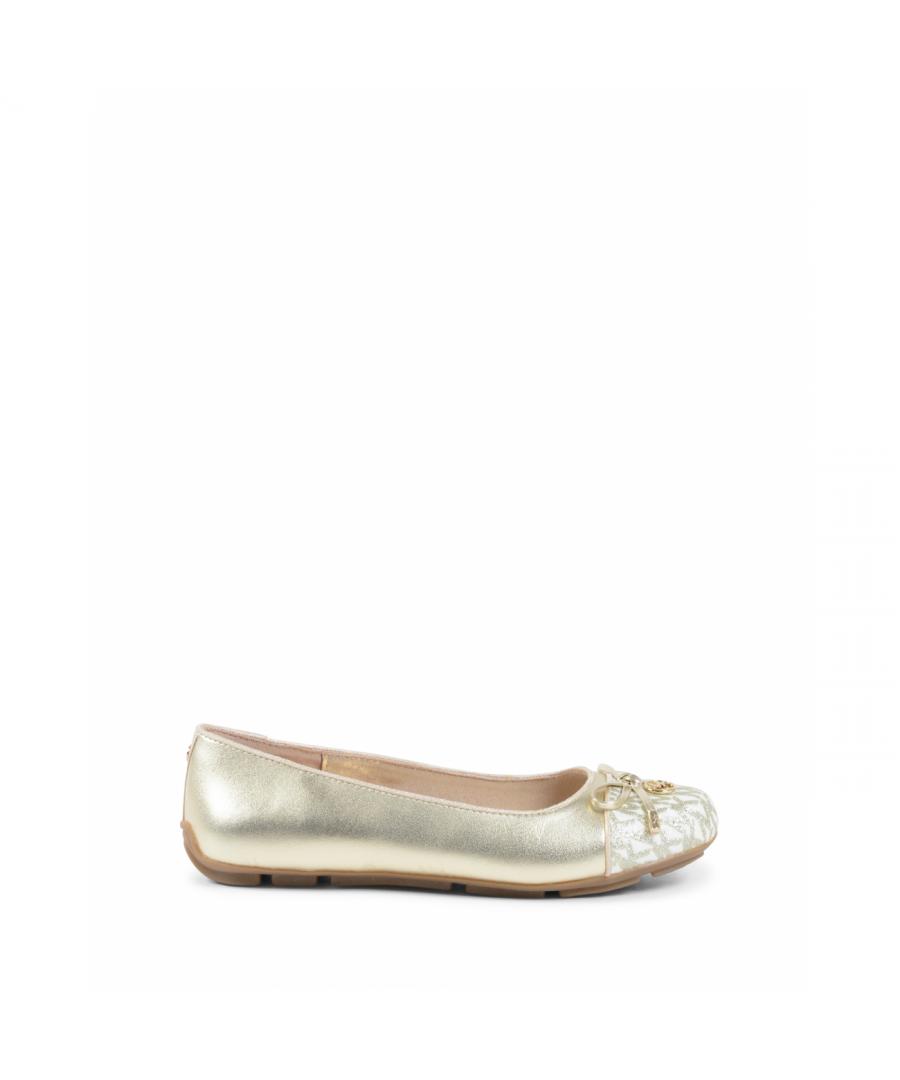 Image for Michael Kors Girls Ballerina Gold ZIA ROVER KERR GOLD
