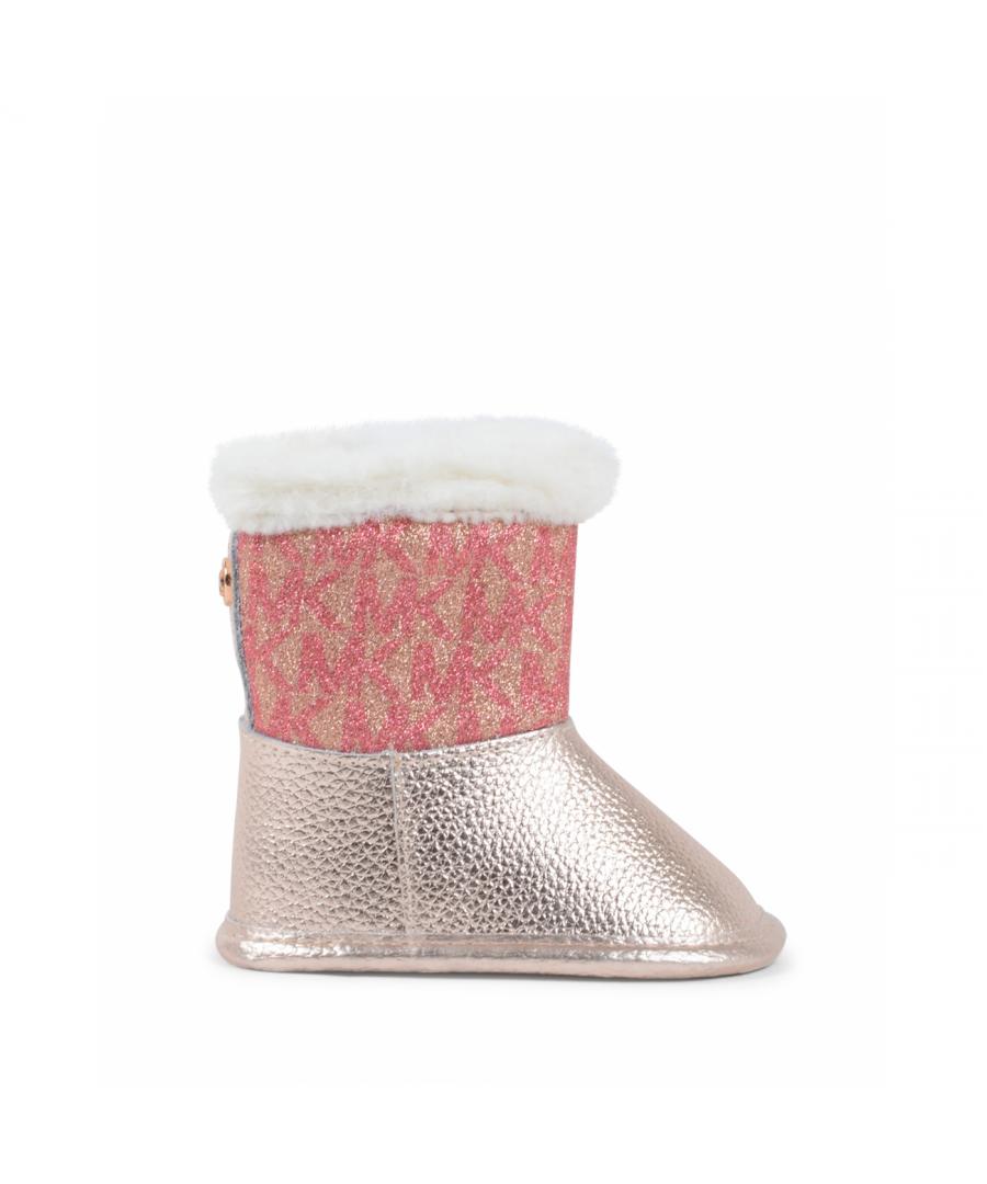 Image for Michael Kors Girls Short Boot Prewalker Multicolor ZIA BABYLIN ROSE GL