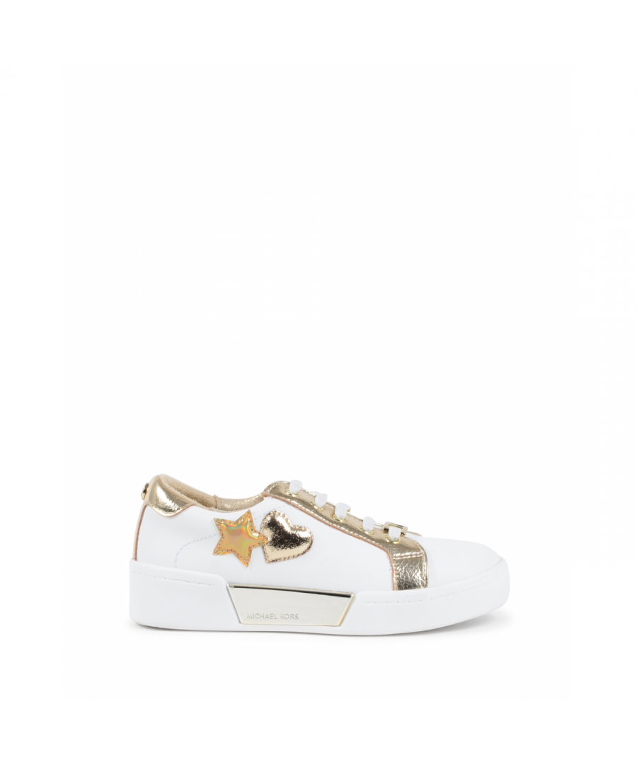 Image for Michael Kors Girls Sneaker White ZIA GUARD ZONE WHITE