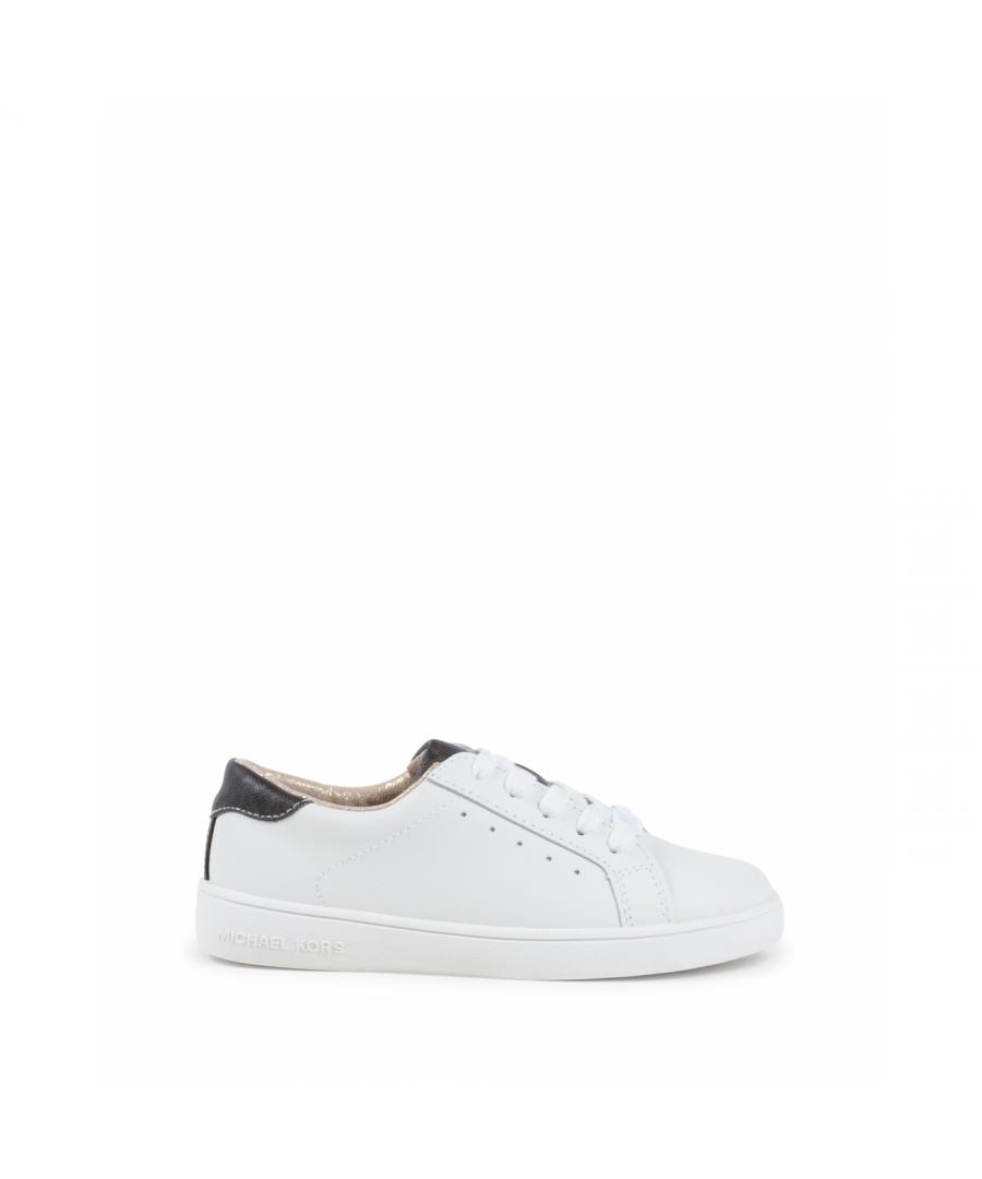 Image for Michael Kors Girls Sneaker White ZIA IVY ALISHA WHITE BROWN