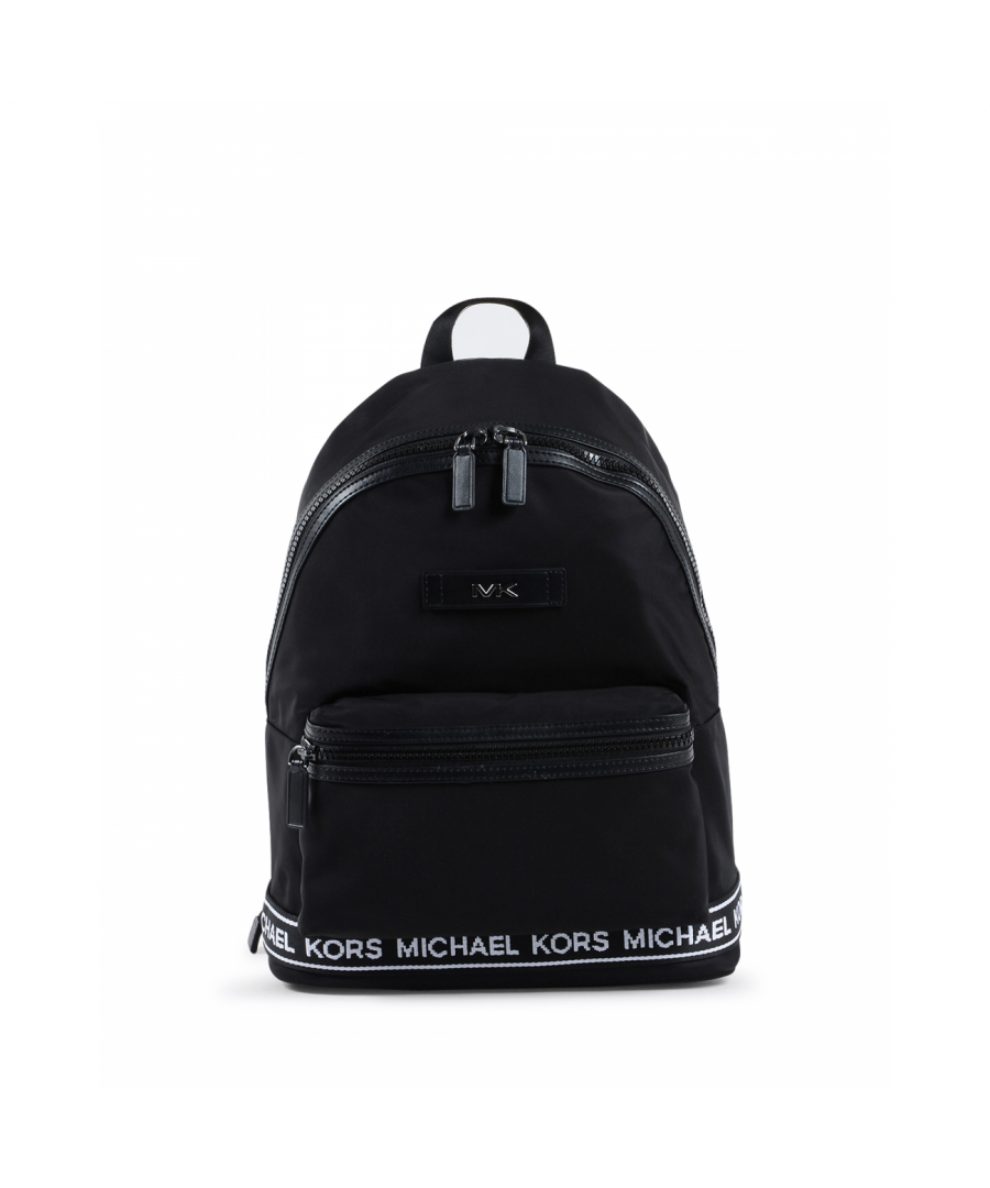 Image for Michael Kors Mens Backpack Black White 37S0SKNB2C BLK/WHT