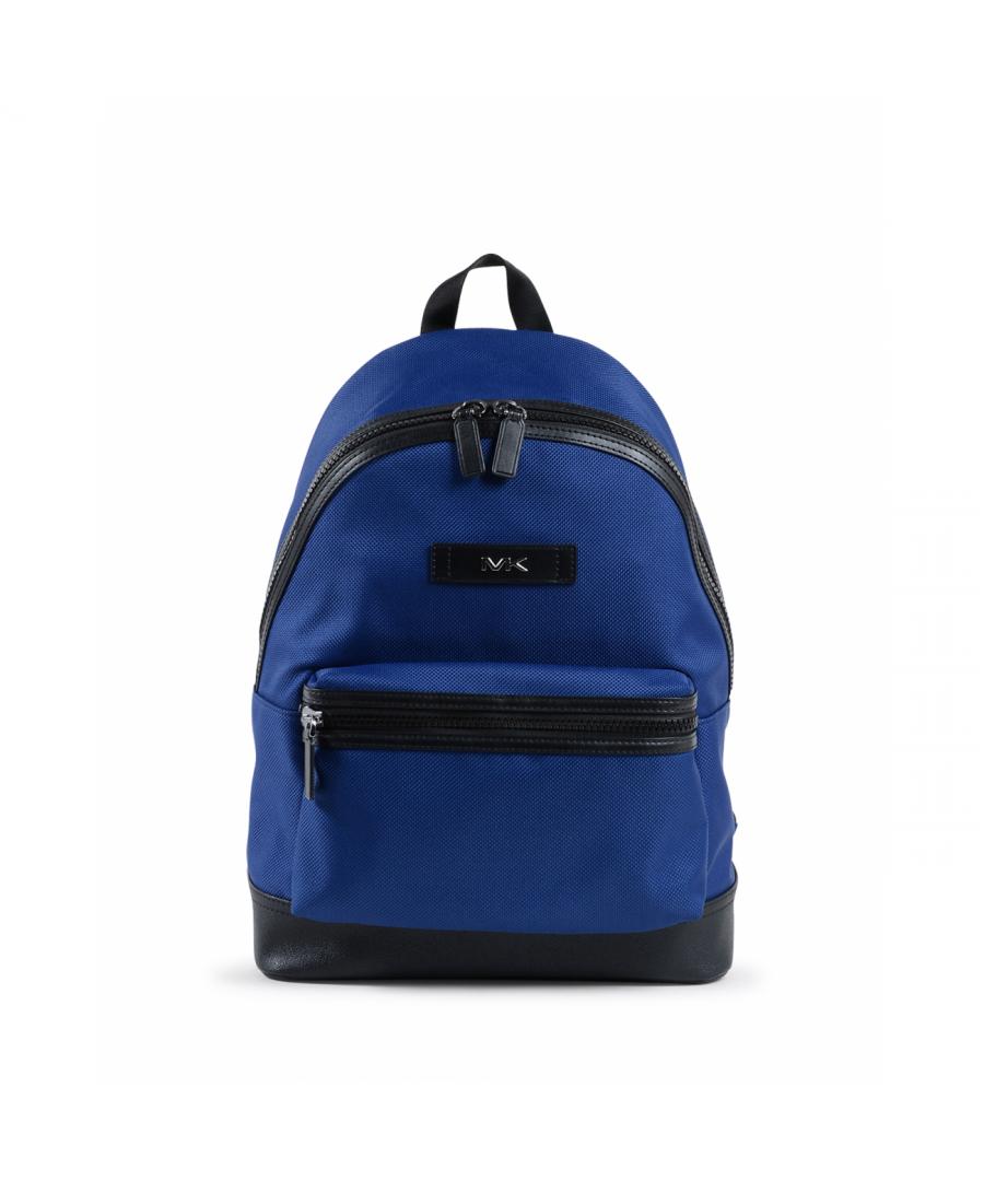 Image for Michael Kors Mens Backpack Blue 37F9LKSB2C SAPPHIRE