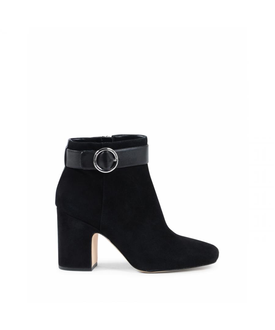 Image for Michael Kors Womens Ankle Boot Black ALANA