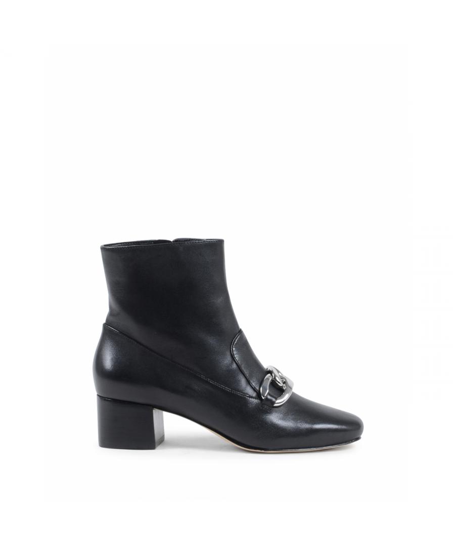 Image for Michael Kors Womens Ankle Boot Black VANESSA