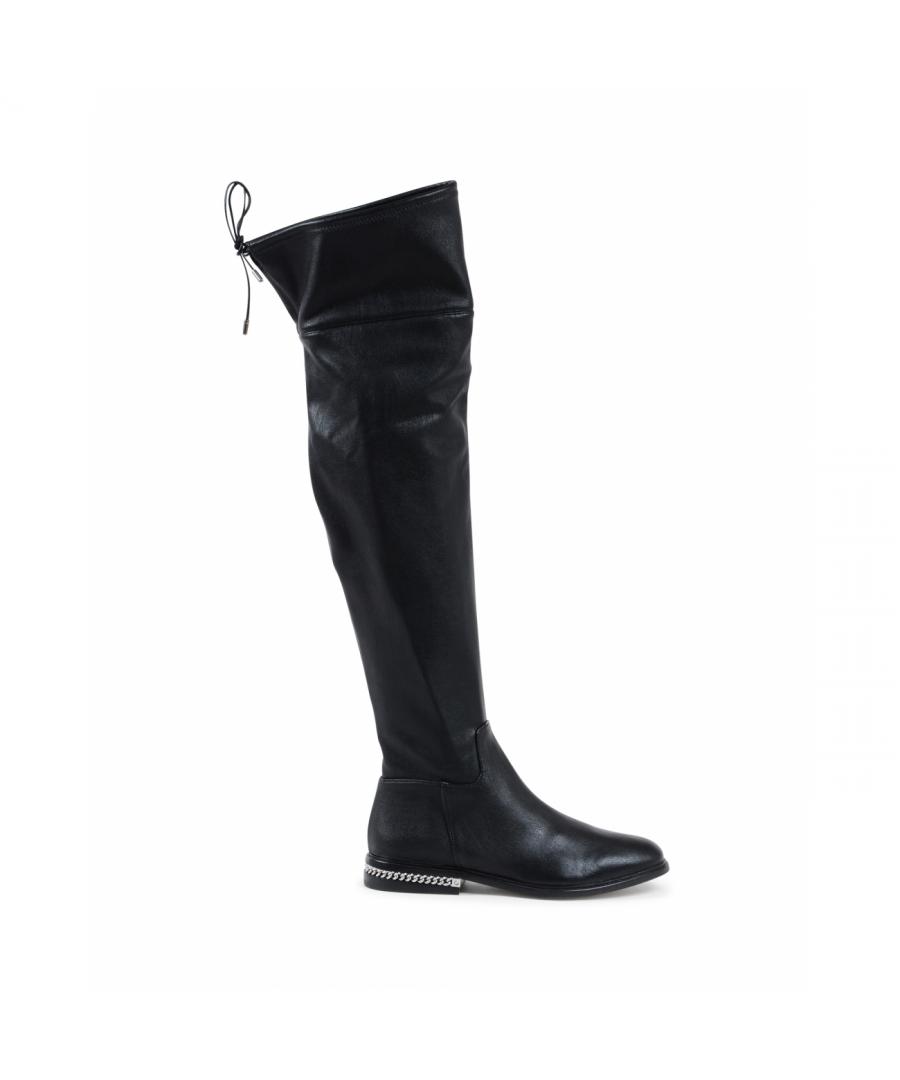 Image for Michael Kors Womens High Boot Black JAMIE