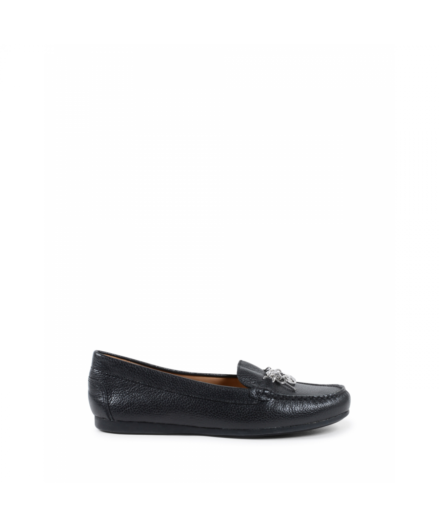 Image for Michael Kors Womens Loafer Black SUKI