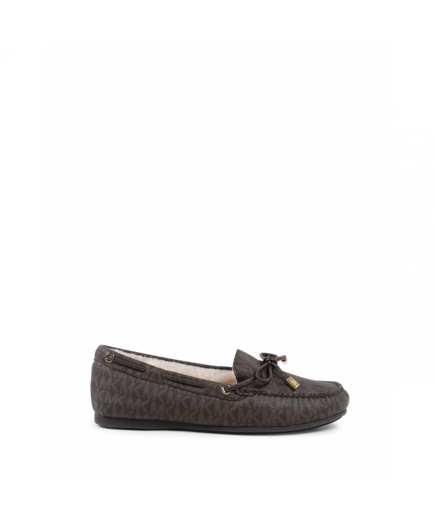 Image for Michael Kors Womens Loafer Brown SUTTON