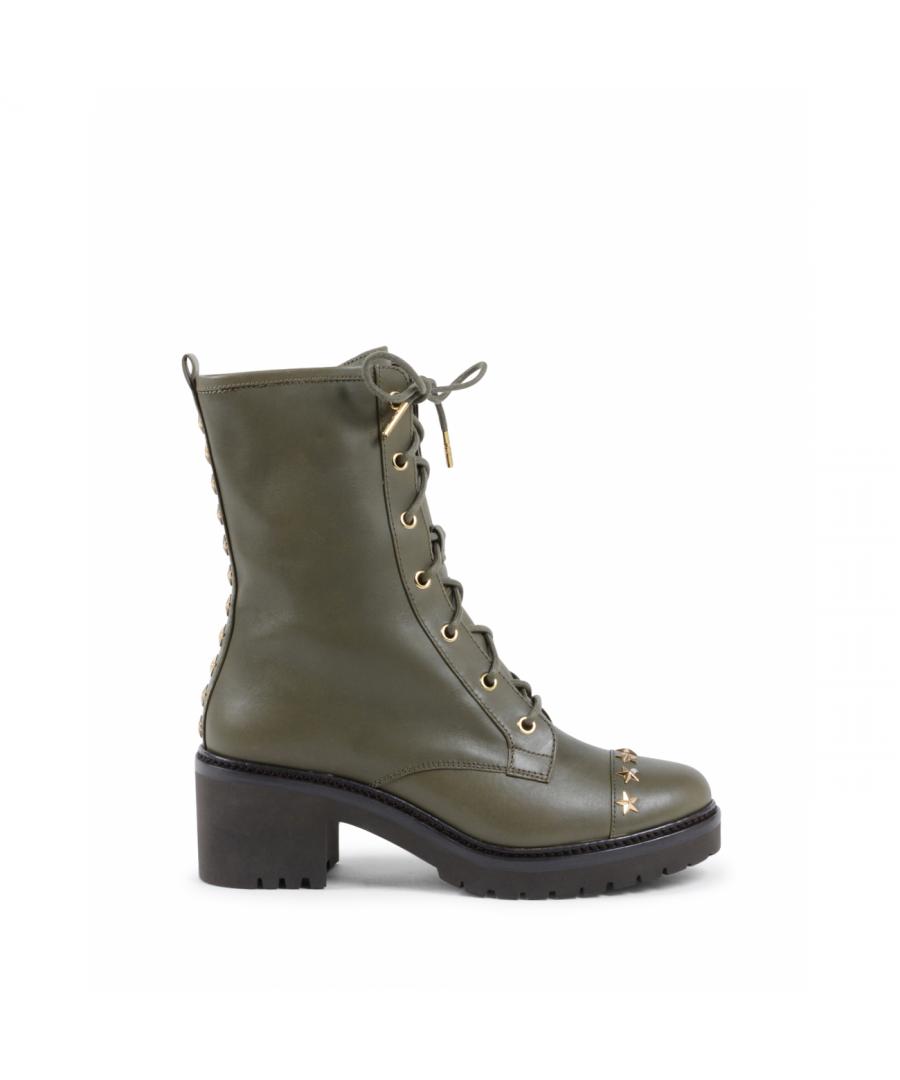 Image for Michael Kors Womens Short Boot Green CODY