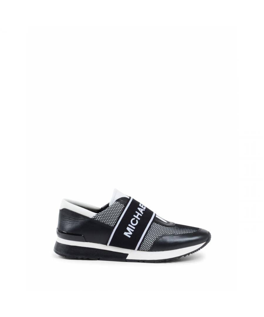 Image for Michael Kors Womens Sneaker Black MK TRAINER