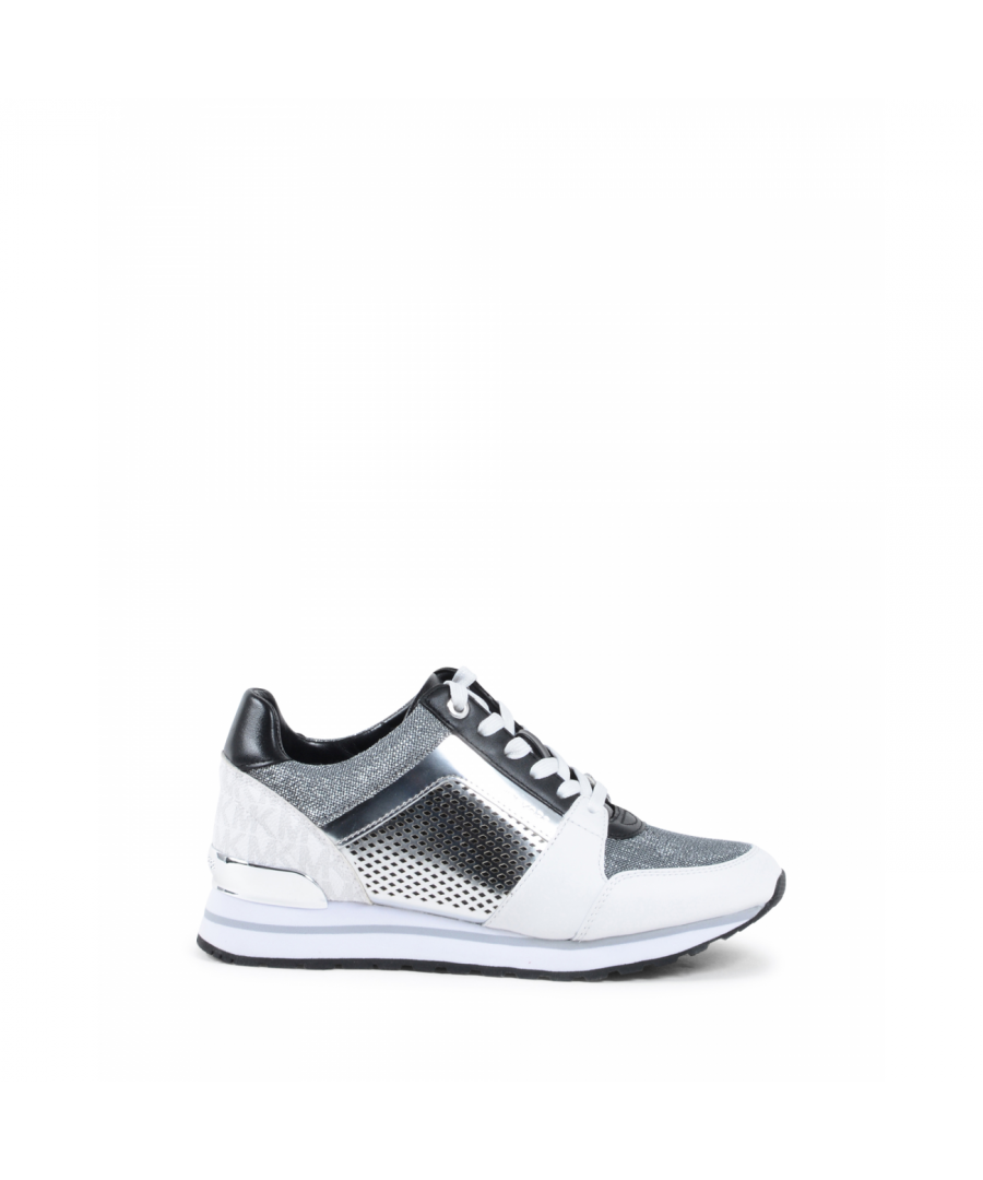 Image for Michael Kors Womens Sneaker Silver BILLIE