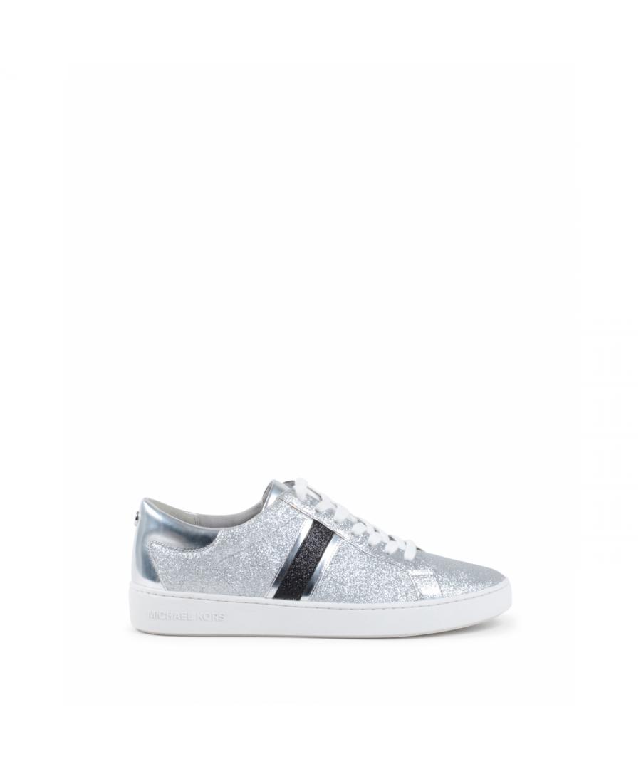 Image for Michael Kors Womens Sneaker Silver KEATON