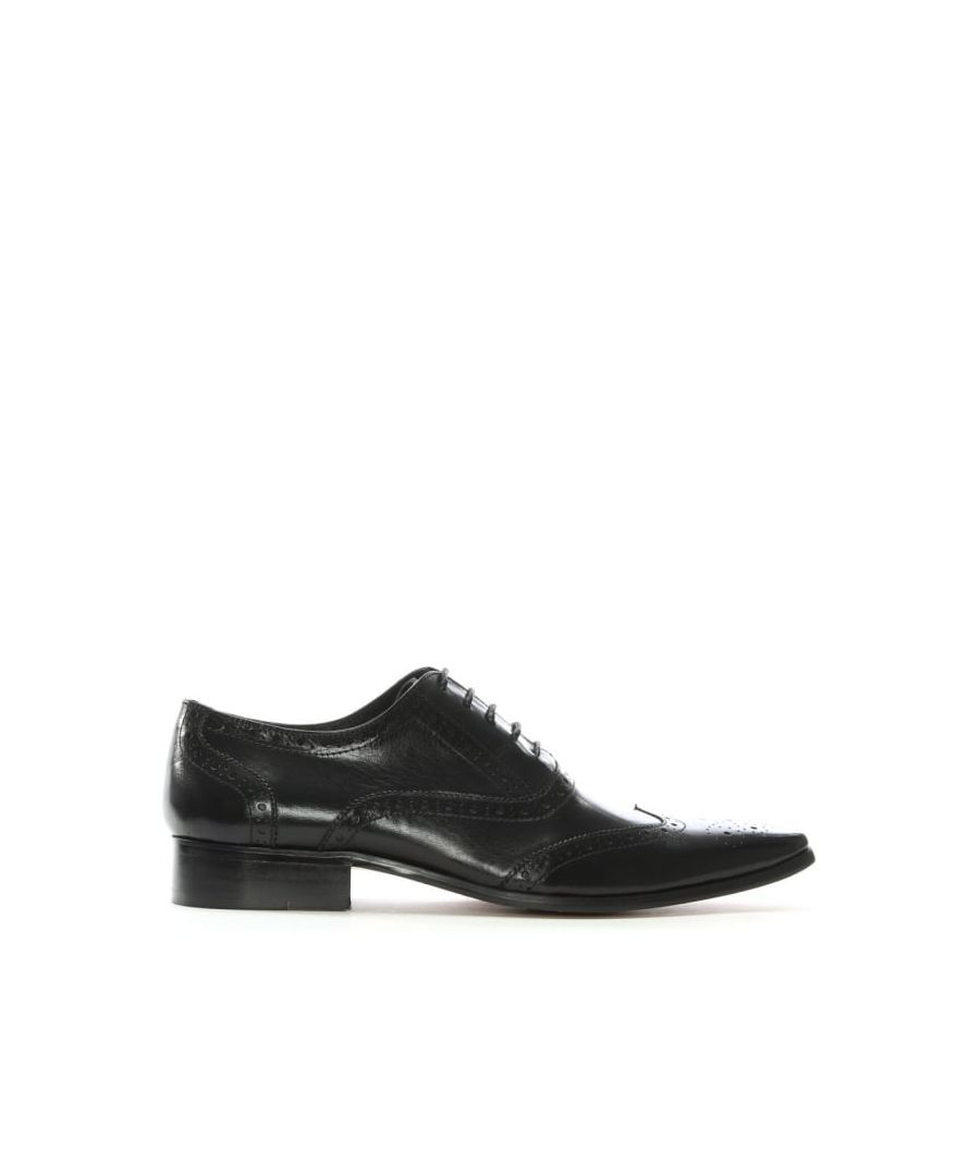 Image for Daniel Milverton Leather Lace Up Brogues