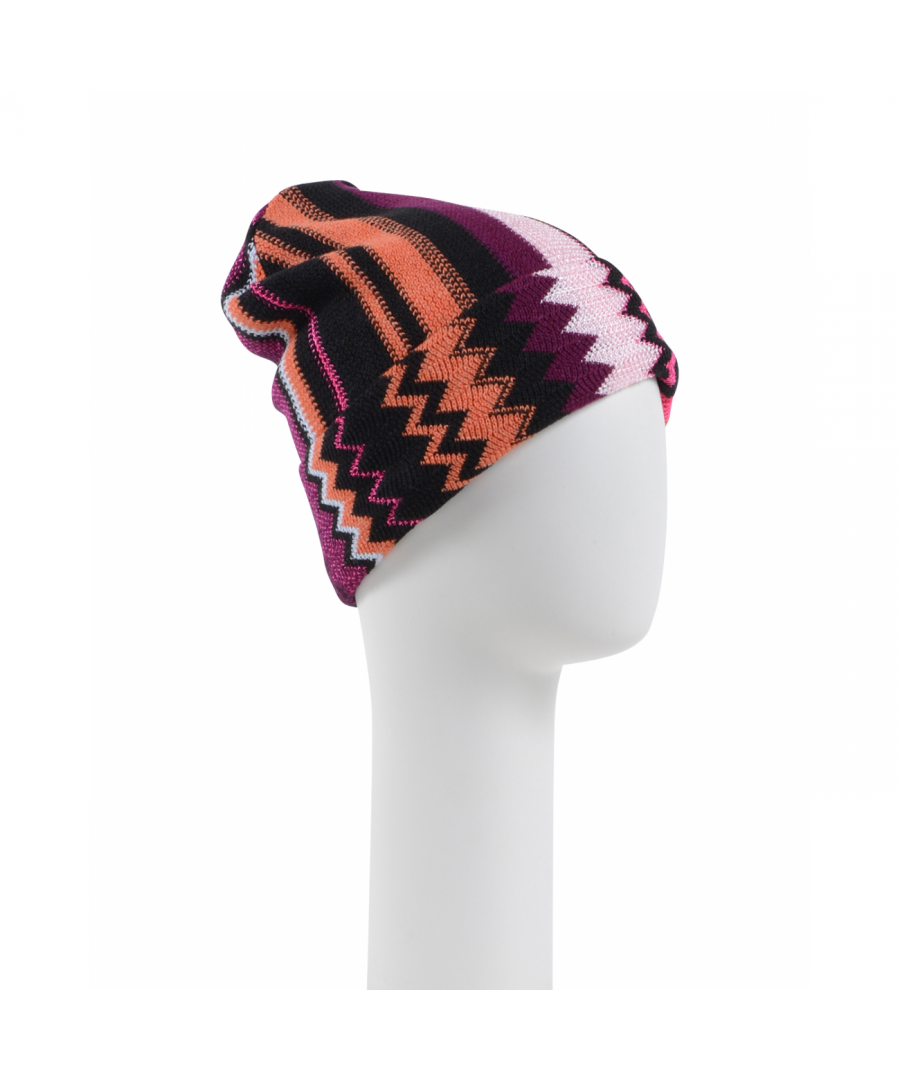 Image for Missoni Womens Beanie Multicolor CPCKWMD66890002