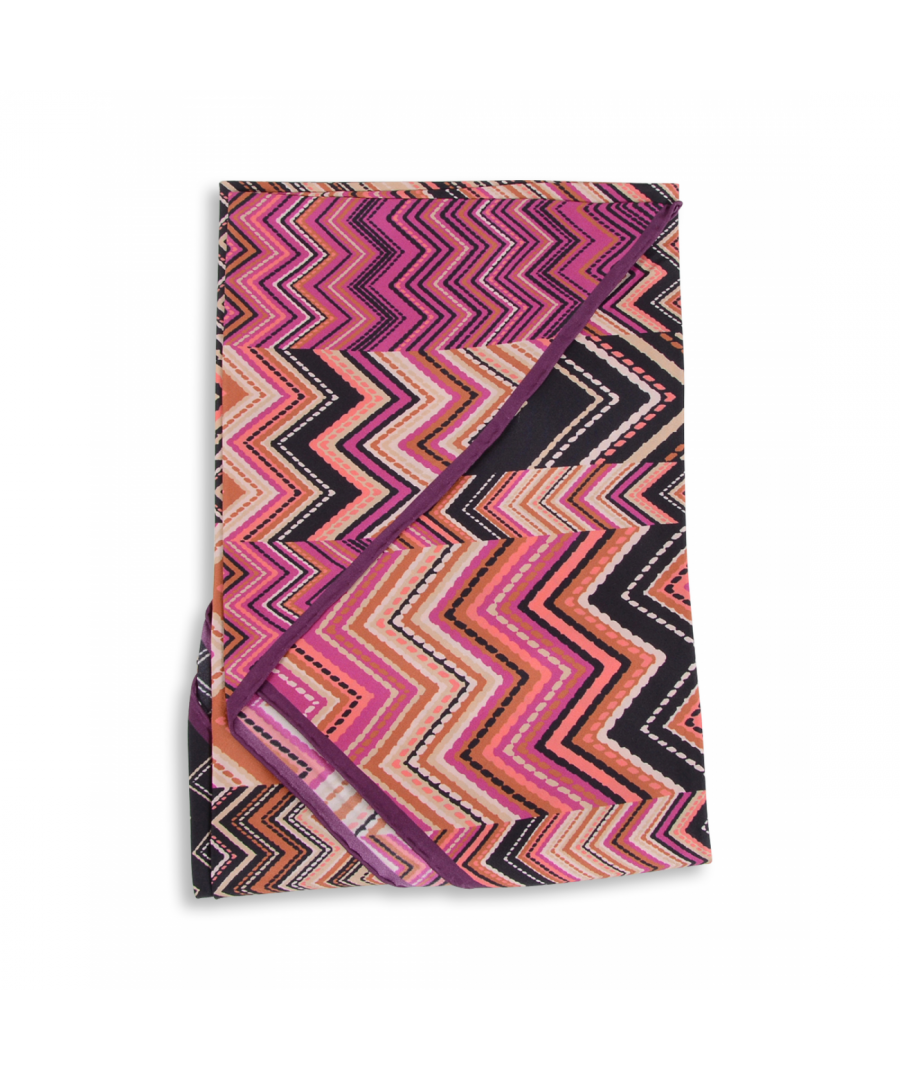 Image for Missoni Womens Triangle Scarf Multicolor TR80TWD57660001