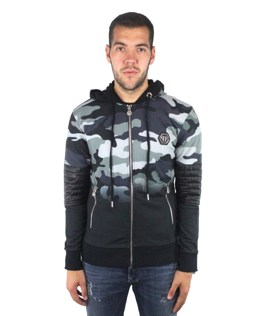 Image for Philipp Plein MJB0110 Raiden CM99 Sweater Jacket
