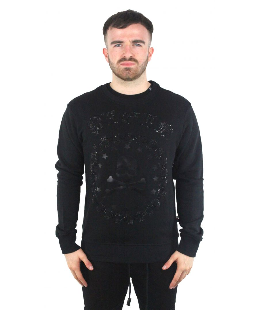 Image for Philipp Plein MJO3333 Bullet 0202  Jumper