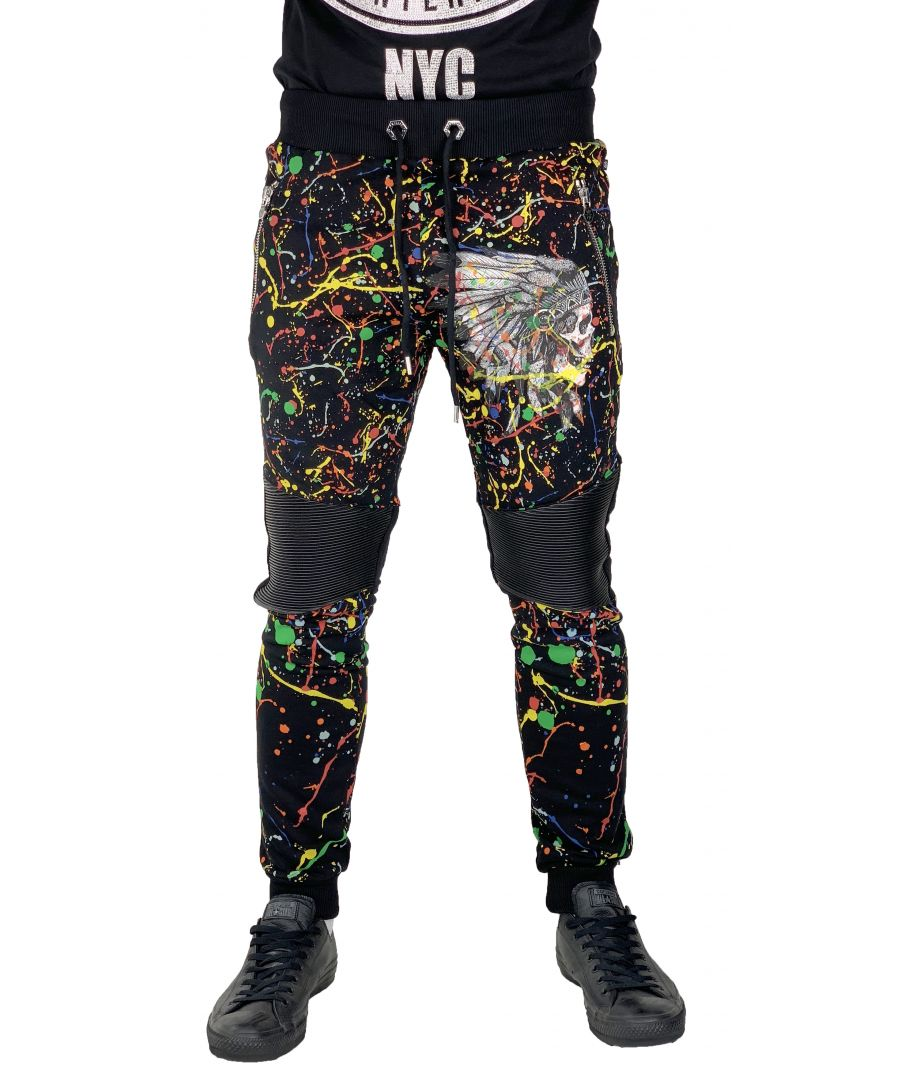 Image for Philipp Plein MJT0029 Indian Way 02 Sweat Pants