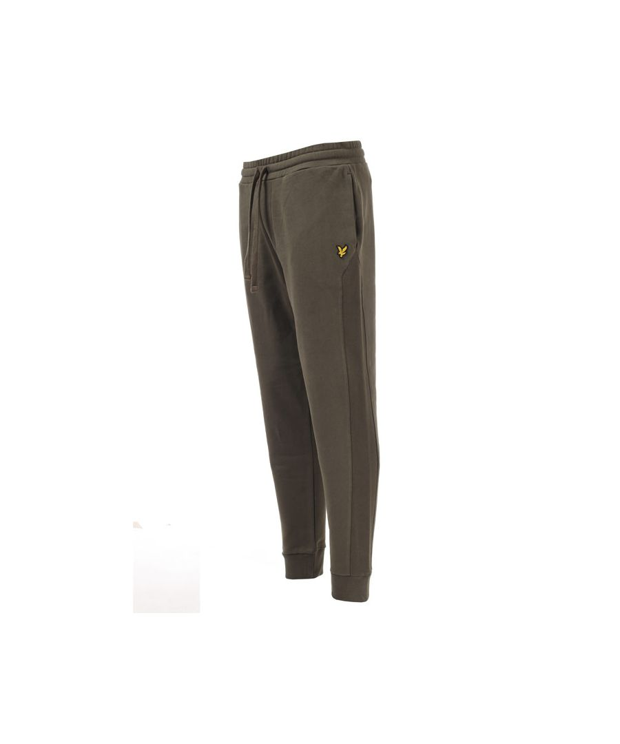 Image for Men's Lyle And Scott Side Panel Trackpants in Green