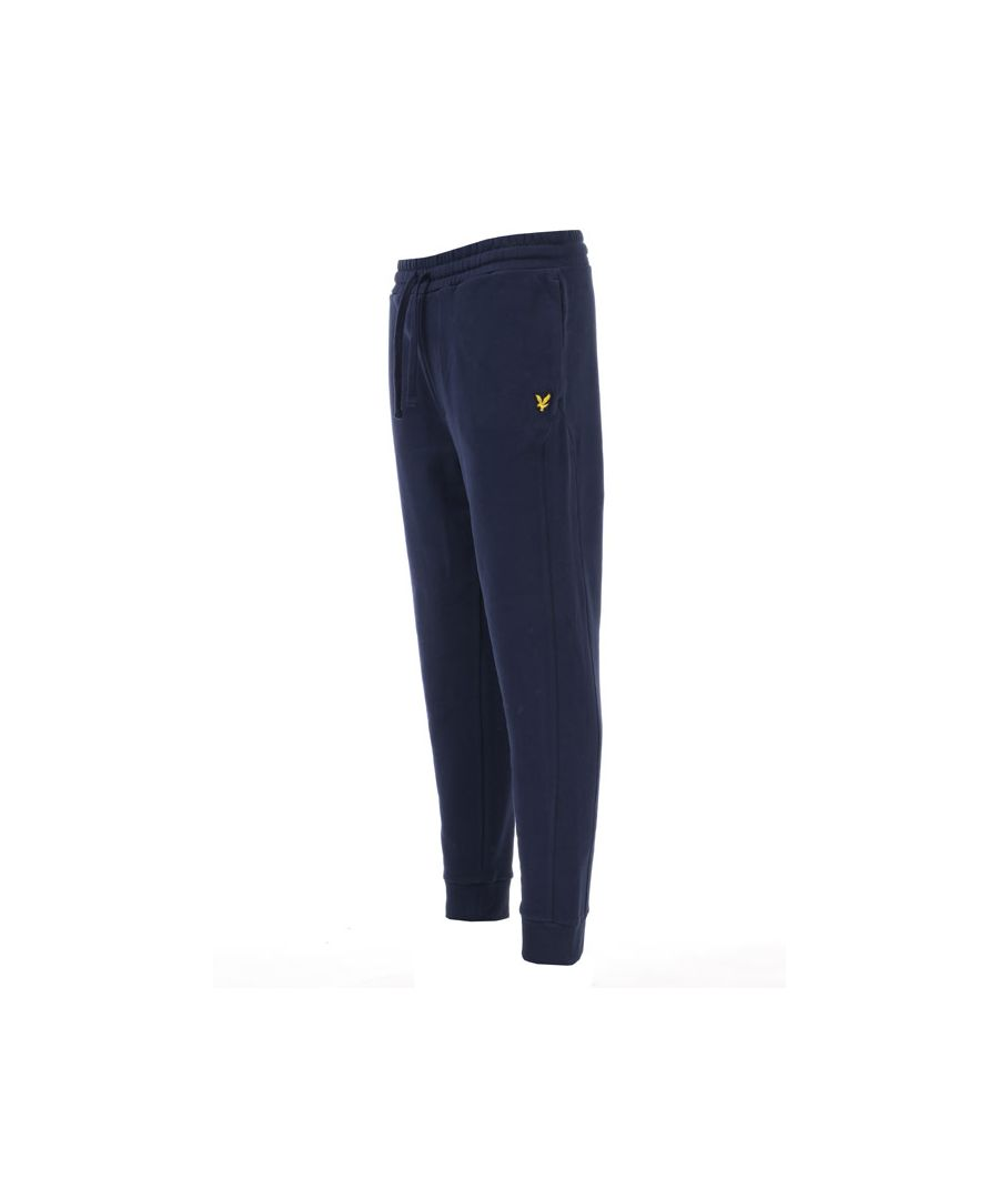 Image for Men's Lyle And Scott Side Panel Trackpants in Navy