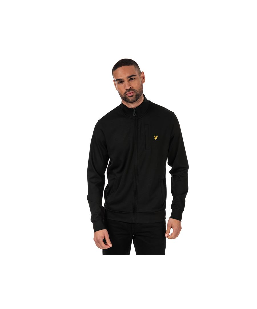 Image for Men's Lyle And Scott Smart Track Top in Black