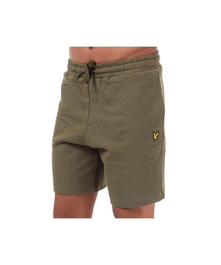 Image for Men's Lyle And Scott Sweat Shorts in Green