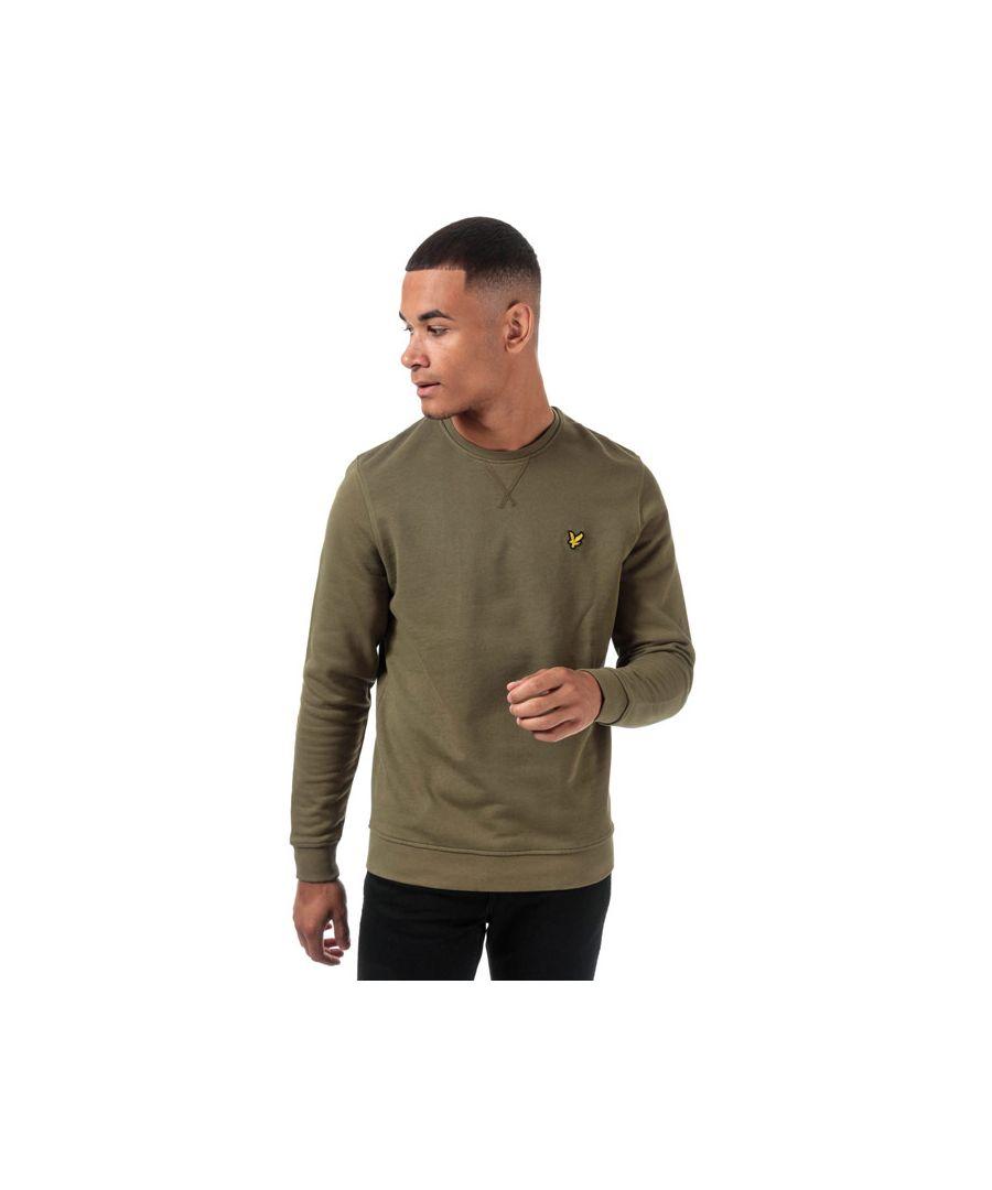 Image for Men's Lyle And Scott Crew Neck Sweatshirt in Green