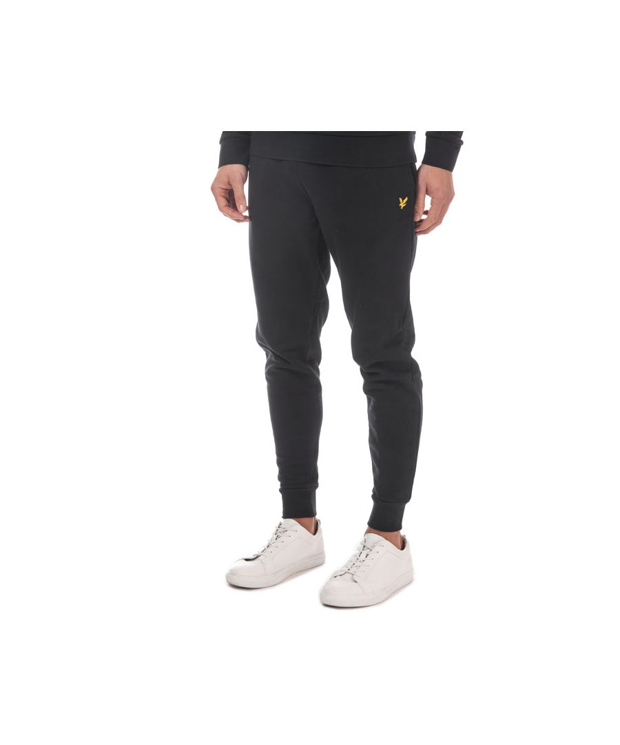 Image for Men's Lyle And Scott Skinny Sweatpant in Black