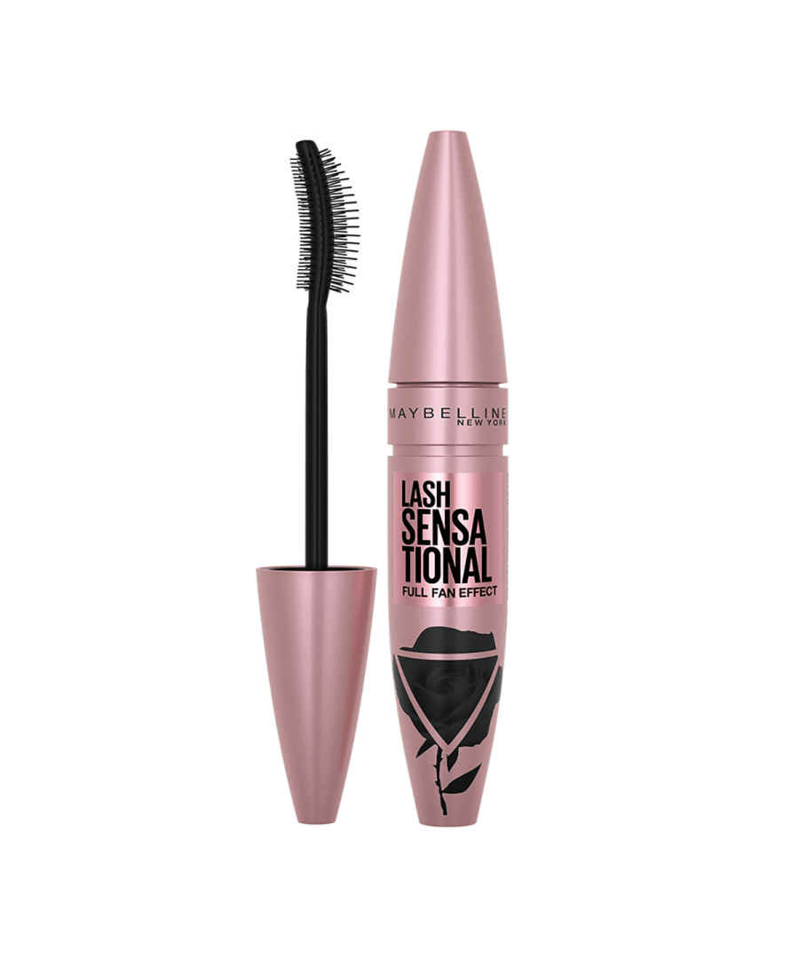 Image for Maybelline Lash Sensational Full Fan Effect Mascara 05 Midnight Black 9.5ml