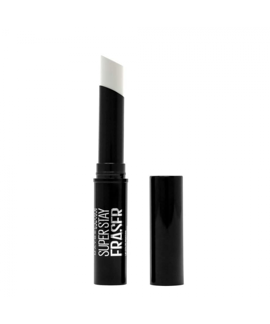 Image for Maybelline New York Superstay Eraser Lip Colour Remover