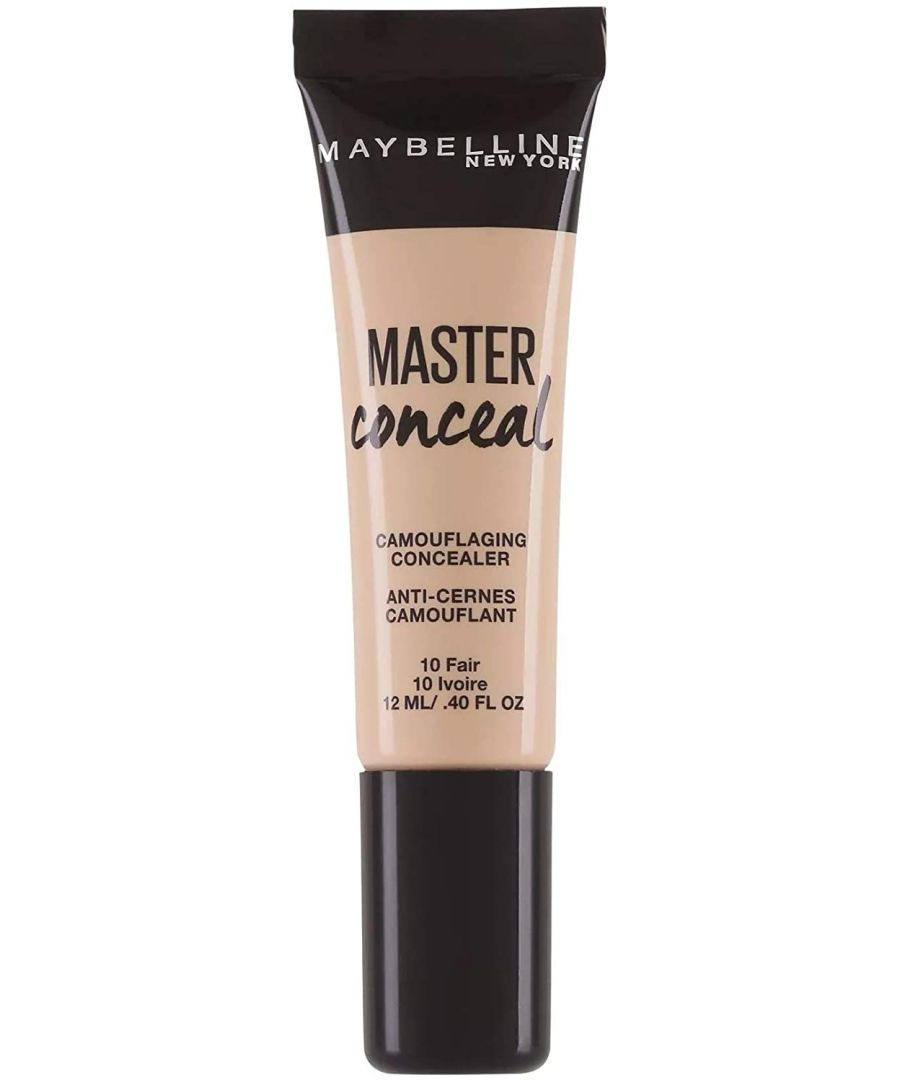 Image for Maybelline New York Master Conceal Camouflaging Concealer 12ml - 10 Fair
