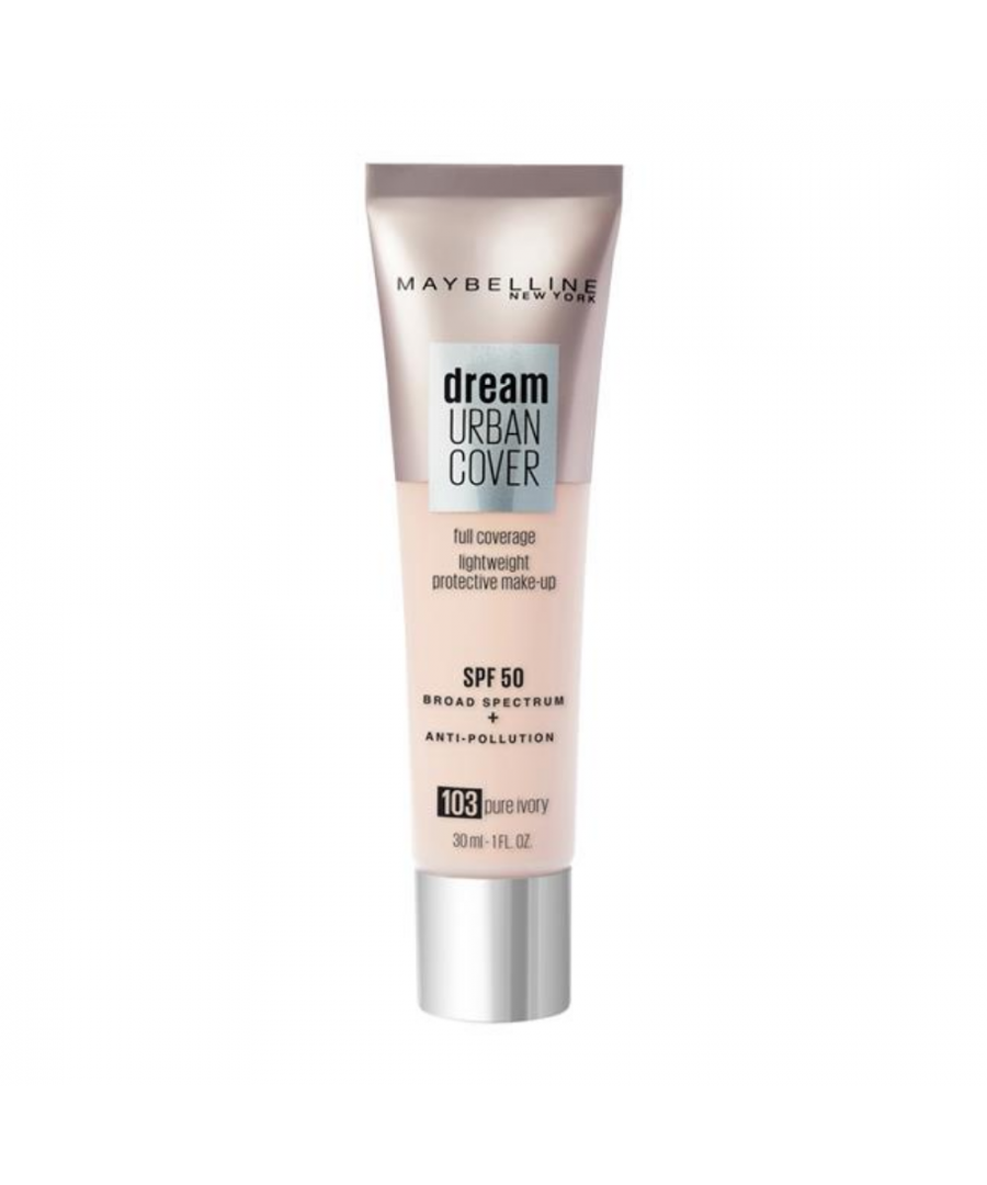 Image for Maybelline Dream Urban Cover Full Coverage Foundation 30ml - 103 Pure Ivory