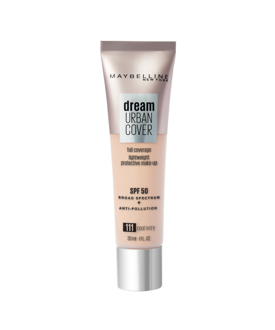 Image for Maybelline Dream Urban Cover Full Coverage Foundation 30ml - 111 Cool Ivory