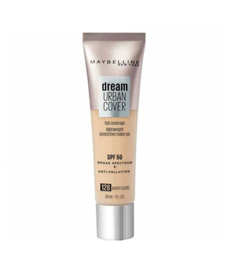 Image for Maybelline Dream Urban Cover Full Coverage Foundation 30ml - 128 Warm Nude