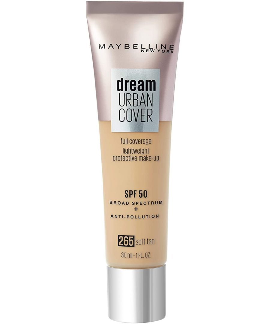 Image for Maybelline Dream Urban Cover Full Coverage Foundation 30ml - 265 Soft Tan