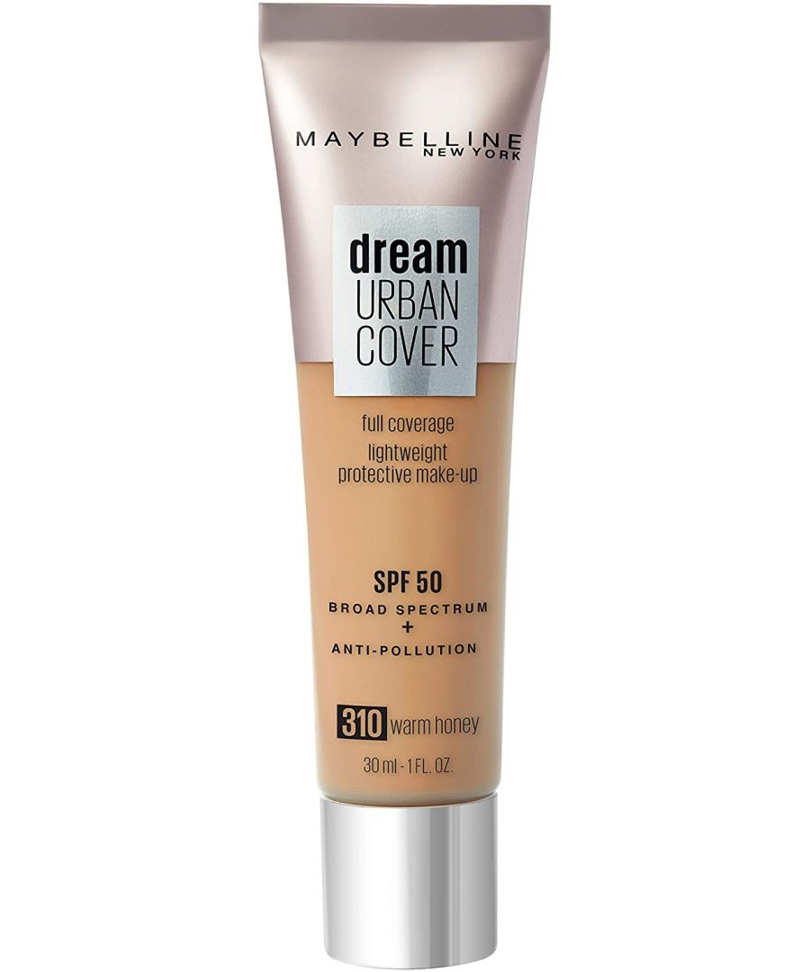 Image for Maybelline Dream Urban Cover Full Coverage Foundation 30ml - 310 Warm Honey