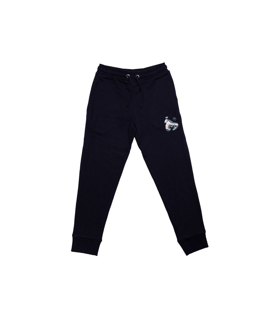 Image for Boy's Money Junior Chrome Ape Jog Pants in Navy