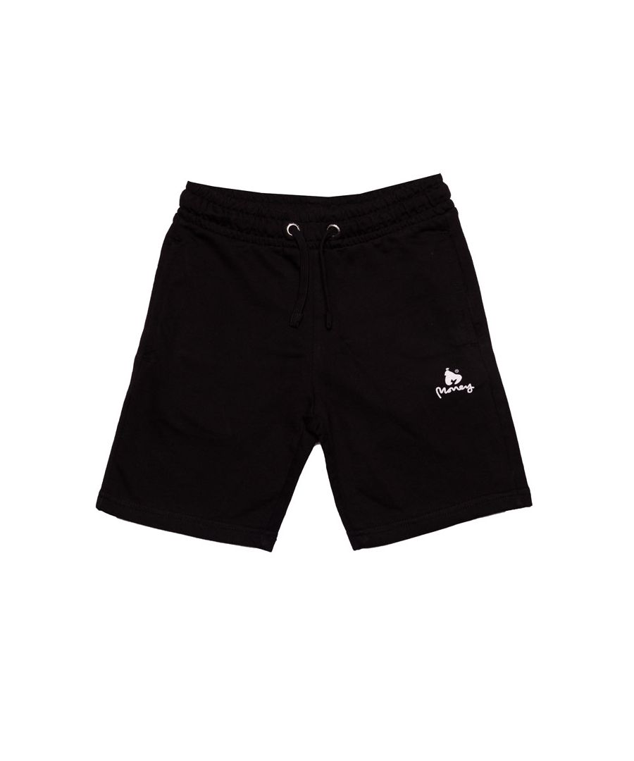 Image for Boy's Money Junior Black Label Shorts in Black