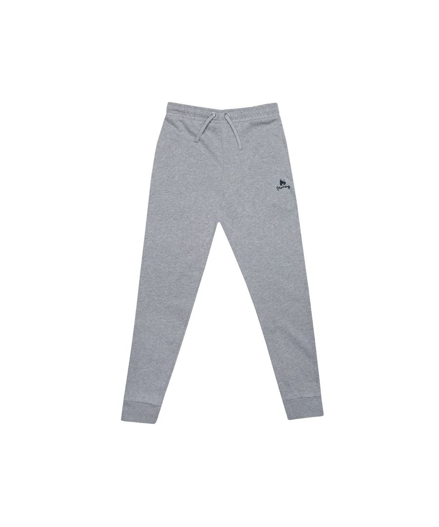 Image for Boy's Money Junior Black Label BB Jog Pants in Grey