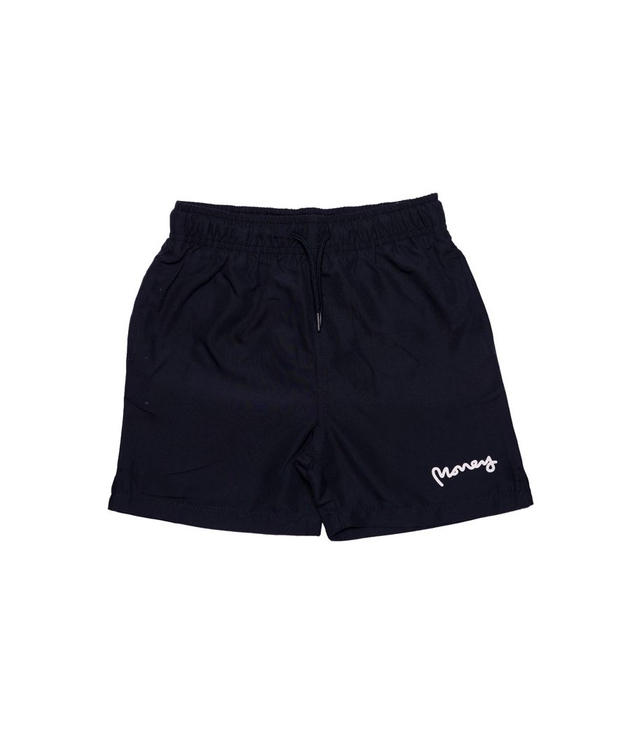 Image for Boy's Money Junior Block Panel Swim Shorts in Navy