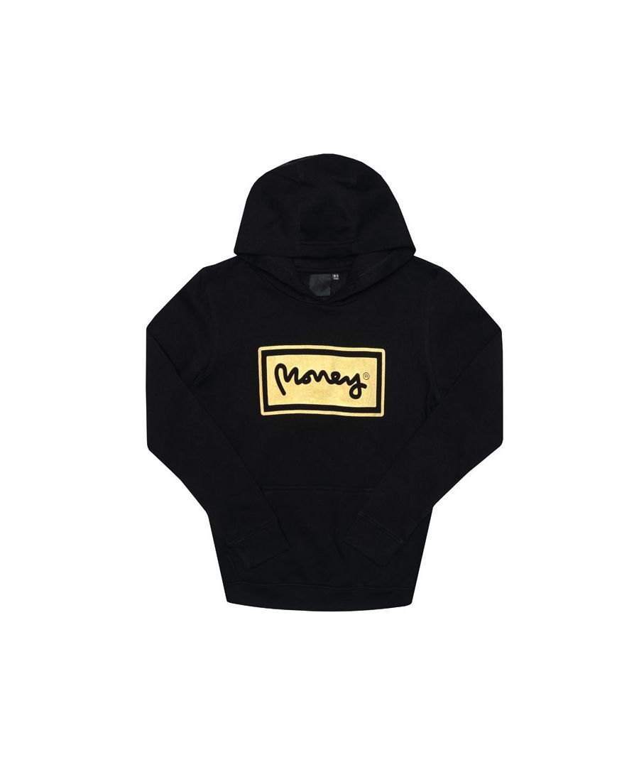 Image for Boy's Money Junior Super Star BB Hoody in Black